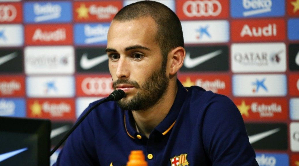 Spain: Aleix Vidal is Presented as a New Barcelona Football Club Player