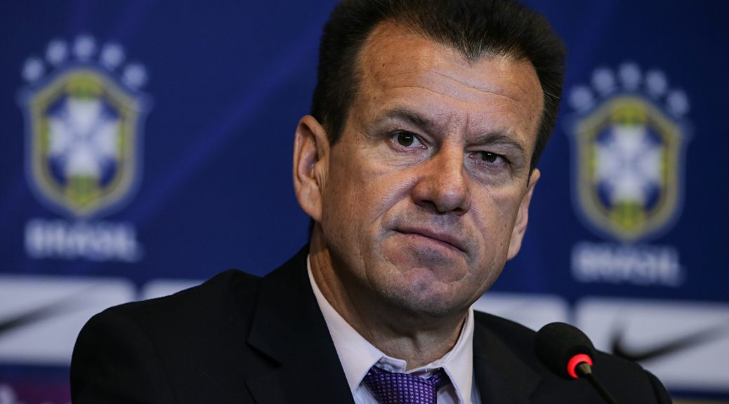 Brazili's Dunga revealing a squad of 22 players for friendlies against Colombia and Ecuador