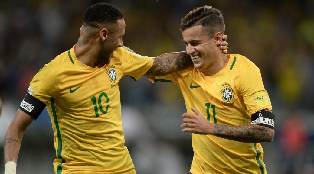 durante Jogo da Selecao Brasileira contra a Argentina pela decima primeira rodada das eliminatorias sul-americanas para a Copa da Russia de 2018 no Mineirao em Belo Horizonte.